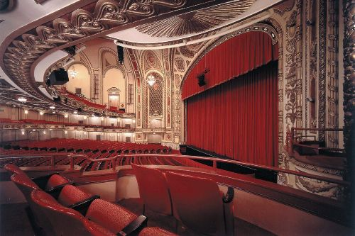 The Cadillac Palace Theatre Interior